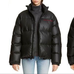 Alexander Wang Chynatown Down Puffer Coat Size S